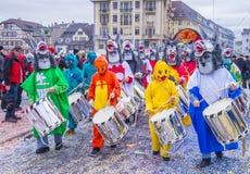 Carnaval 2017 de Basilea Imagenes de archivo