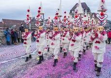 Carnaval 2017 de Basilea Fotografía de archivo libre de regalías