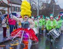 Carnaval 2017 de Basilea Foto de archivo