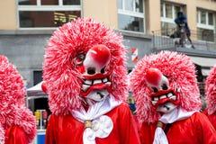 Carnaval de Basilea 2019 fotos de archivo libres de regalías