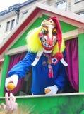 Carnaval de Basileia - arlequim fotografia de stock