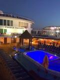 Carnaval-de Betovering van het Cruiseschip Stock Foto