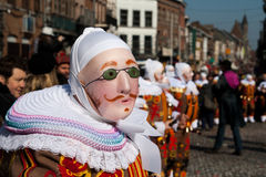 Carnaval de Binche. Royalty Free Stock Photo
