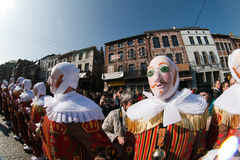 Carnaval de Binche. photo stock