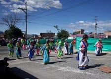 Carnaval De Blancos y Negros Photo libre de droits