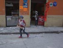 Carnaval de Blancos y Negros Стоковое Изображение RF