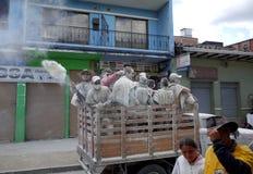Carnaval De Blancos y Negros Photo stock