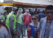 Carnaval De Blancos y Negros Images stock