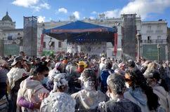Carnaval de Blancos y Negros Fotos de archivo libres de regalías