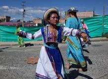 Carnaval de Blancos y Negros в Chachagui Стоковое фото RF