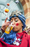 Carnaval de Cádiz Fotos de archivo libres de regalías