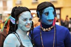 Carnaval de Cádiz, Andalucía, España Fotos de archivo libres de regalías