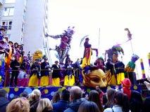 Carnaval de Cadiz 2017 andalusia spain imagem de stock