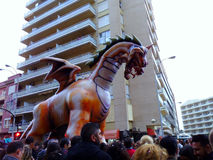 Carnaval de Cadiz 2017 andalusia spain fotografia de stock royalty free
