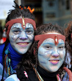 Carnaval de Cadiz, a Andaluzia, Espanha Fotografia de Stock Royalty Free