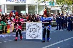 Carnaval de Chipre, cheio das cores e do divertimento Foto de Stock Royalty Free