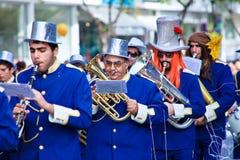 Carnaval de Chipre, cheio das cores e do divertimento Imagem de Stock Royalty Free