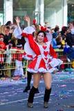 Carnaval de Chipre, cheio das cores e do divertimento Imagens de Stock