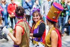 Carnaval de culturas en Berlín, Alemania Foto de archivo libre de regalías