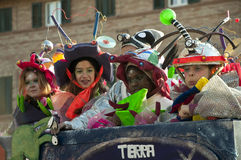 Carnaval de Fano Photo stock