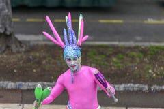 Carnaval de fleur à Nice, Frances Photographie stock