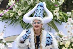 Carnaval de fleur à Nice, Frances Image stock