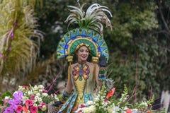 Carnaval de fleur à Nice, Frances Images libres de droits