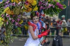 Carnaval de fleur à Nice, Frances Photo stock
