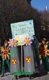Carnaval - de groep van bloemmeisjes Stock Foto's