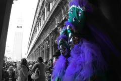 Carnaval de Italia, Venecia Fotos de archivo libres de regalías