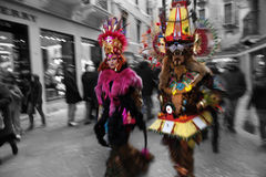 Carnaval de Italia, Venecia Imagen de archivo libre de regalías