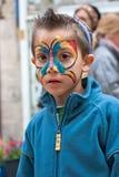 Carnaval de Jerusalem, Israel - de Purim. Imagem de Stock