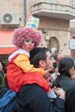Carnaval de Jerusalem, Israel - de Purim Fotografia de Stock
