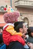 Carnaval de Jerusalem, Israel - de Purim Imagens de Stock