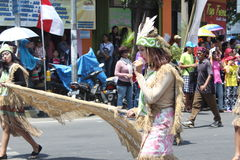 Carnaval de Jour de la Déclaration d'Indépendance de l'Indonésie Image stock