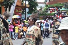 Carnaval de Jour de la Déclaration d'Indépendance de l'Indonésie Photo libre de droits