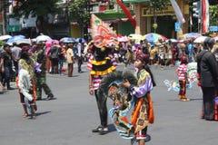 Carnaval de Jour de la Déclaration d'Indépendance de l'Indonésie Photo stock