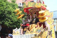Carnaval de Jour de la Déclaration d'Indépendance de l'Indonésie images libres de droits