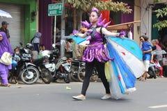 Carnaval de Jour de la Déclaration d'Indépendance de l'Indonésie Images stock