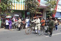 Carnaval de Jour de la Déclaration d'Indépendance de l'Indonésie Photos libres de droits