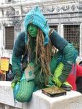 Carnaval de l'Europe Venise Image stock