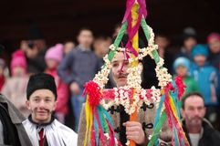 Carnaval 9 de la conclusión del invierno fotos de archivo libres de regalías