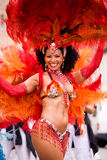 Carnaval de la samba en Coburg 3 Fotos de archivo libres de regalías