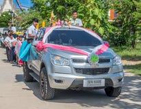 Carnaval de la vela en Tailandia Imagen de archivo libre de regalías