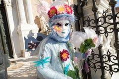 Carnaval de las máscaras de Venecia Fotografía de archivo libre de regalías