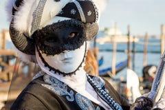 Carnaval de las máscaras de Venecia Fotos de archivo
