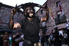 Carnaval de Luzon de diables image stock