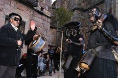 Carnaval de LUZON de diables. L'ESPAGNE photo stock