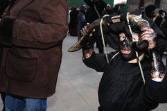 Carnaval de LUZON de diables. L'ESPAGNE photographie stock
