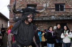 Carnaval de LUZON de diables. L'ESPAGNE photos stock